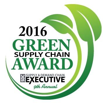 Green Supply Chain Award FoodLogiQ Logo