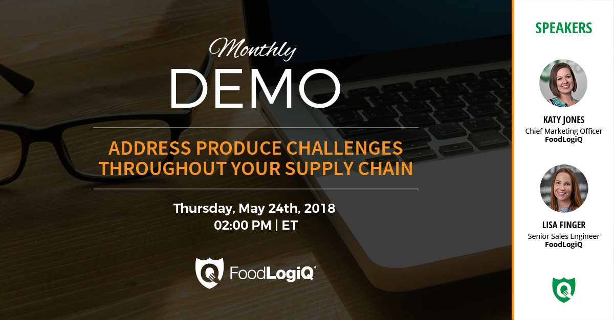 Address Produce Challenges in Your Supply Chain 5.16.18
