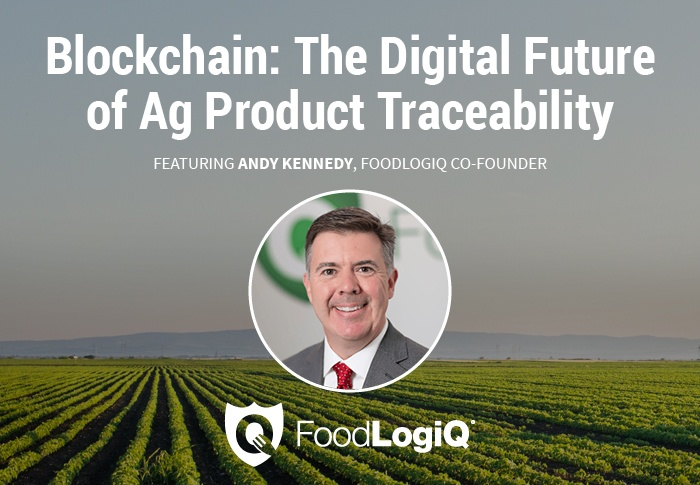FoodLogiQ Co-Founder Andy Kennedy to Share Blockchain Insight at NC Biotech's Ag Tech Professional Forum