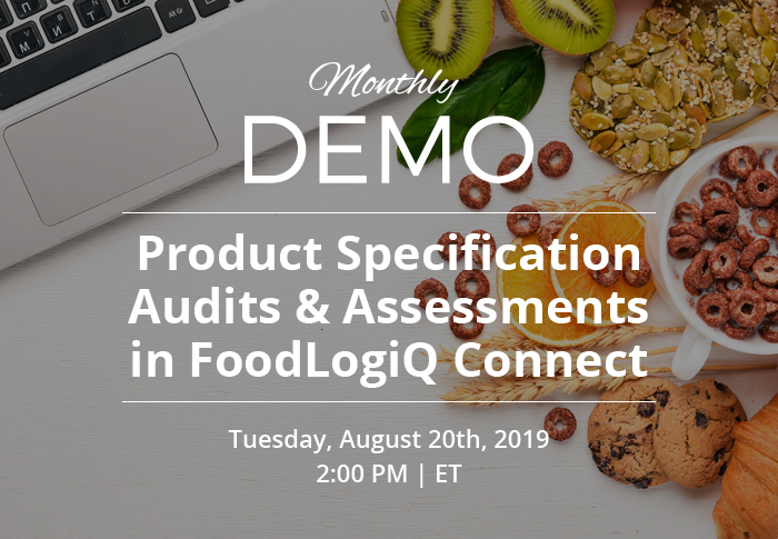 Conducting Product Specification Audits with FoodLogiQ Connect