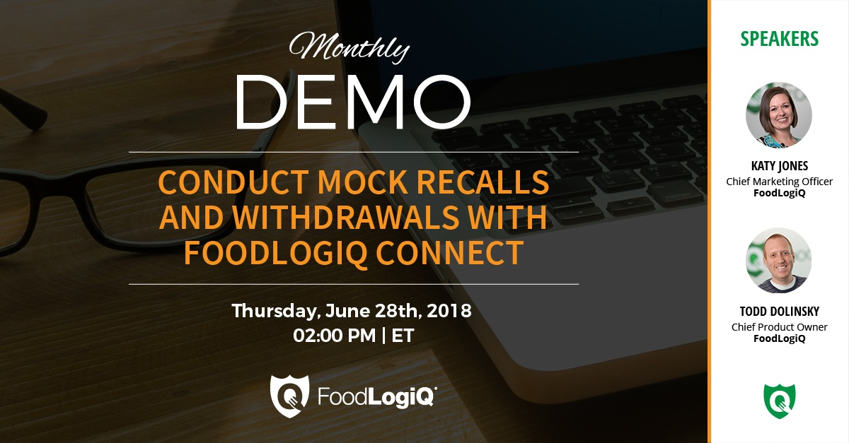 Conduct Mock Recalls and Withdrawals with FoodLogiQ Connect