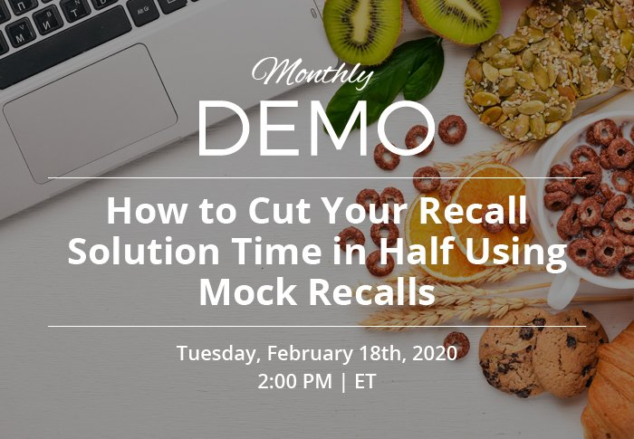 How to Cut Your Recall Solution Time in Half Using Mock Recalls