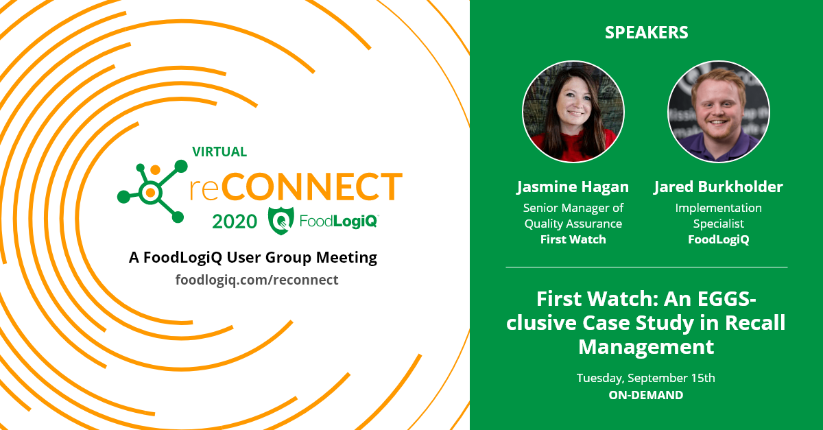 First Watch: An EGGS-clusive Case Study in Recall Management at Virtual reCONNECT 2020