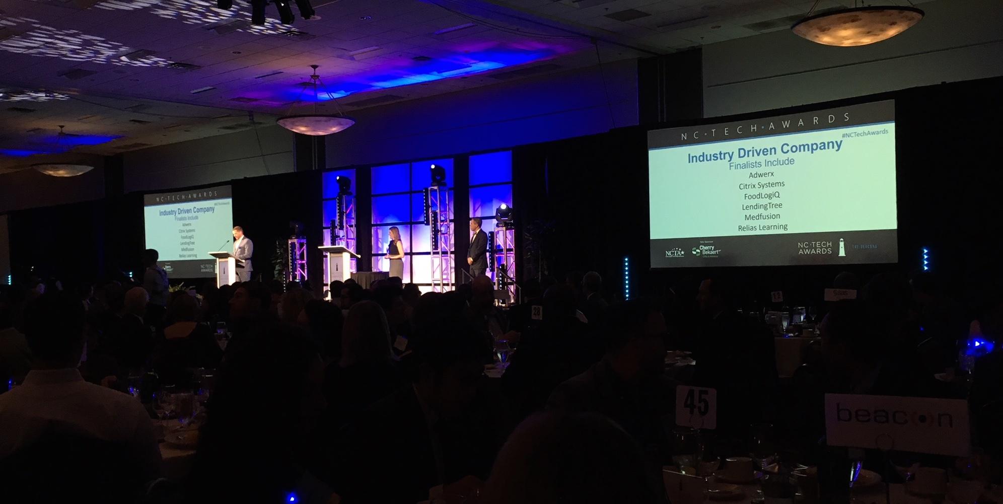 FoodLogiQ Named as a 2017 NC Tech Award Finalist