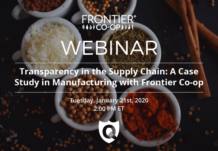 Transparency in the Supply Chain: A Case Study in Manufacturing with Frontier Co-op