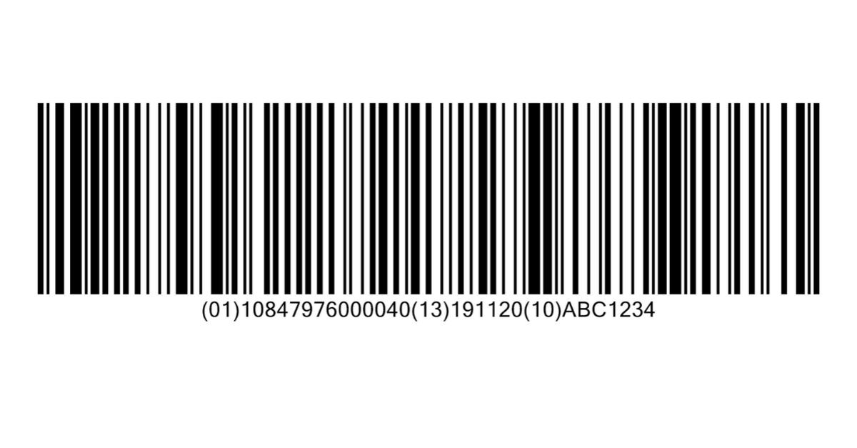 GS1-128 Barcode