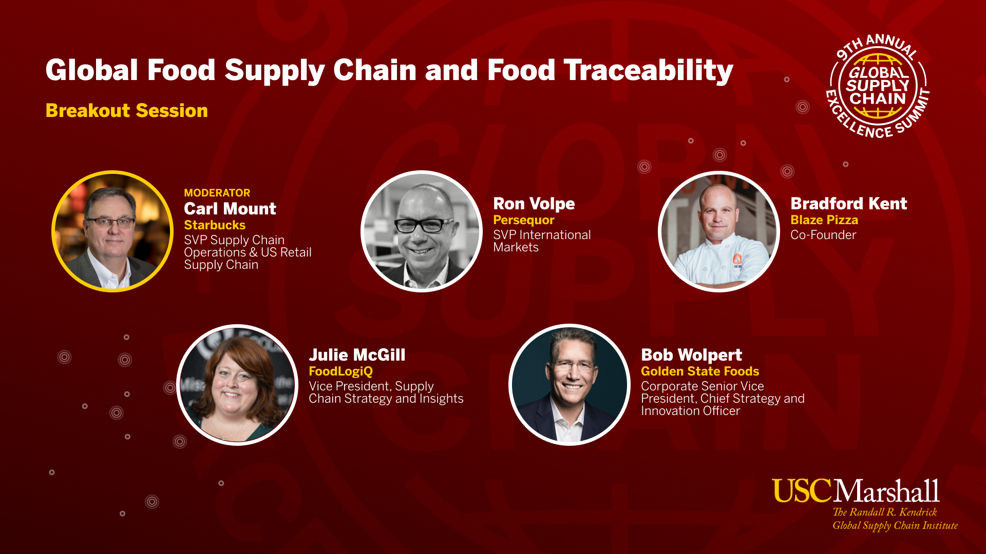 FoodLogiQ Talks Traceability at the Global Supply Chain Excellence Summit