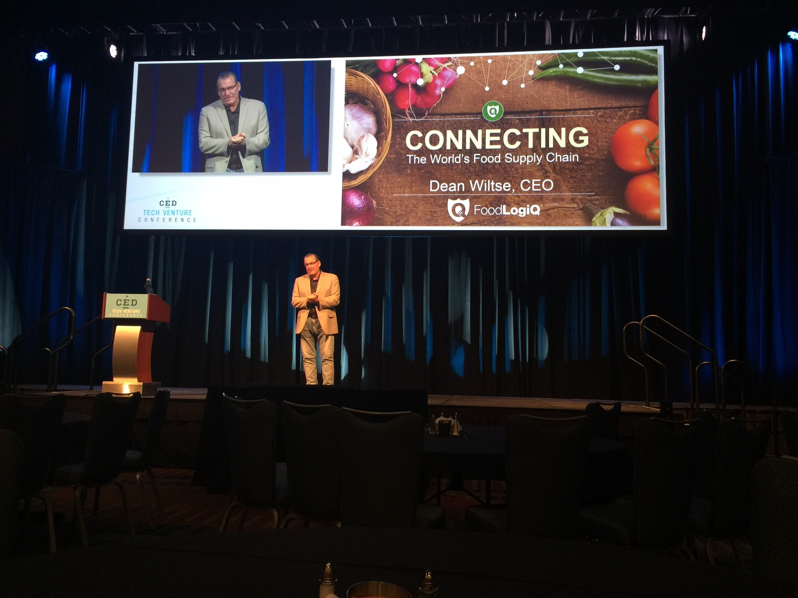 FoodLogiQ at CED Tech Venture Conference and Other Highlights