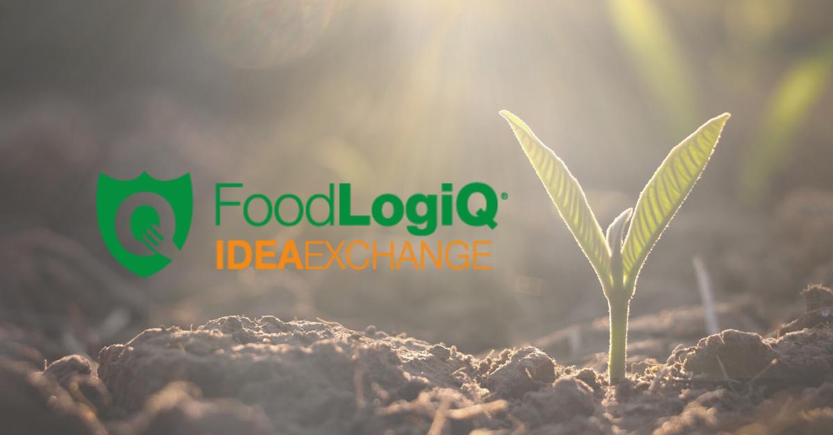 Introducing the FoodLogiQ Idea Exchange