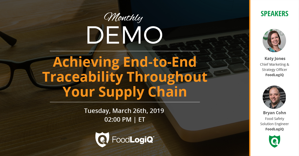 Achieving End-to-End Traceability Throughout Your Supply Chain