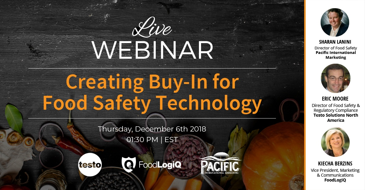 Creating Buy-In for Food Safety Technology