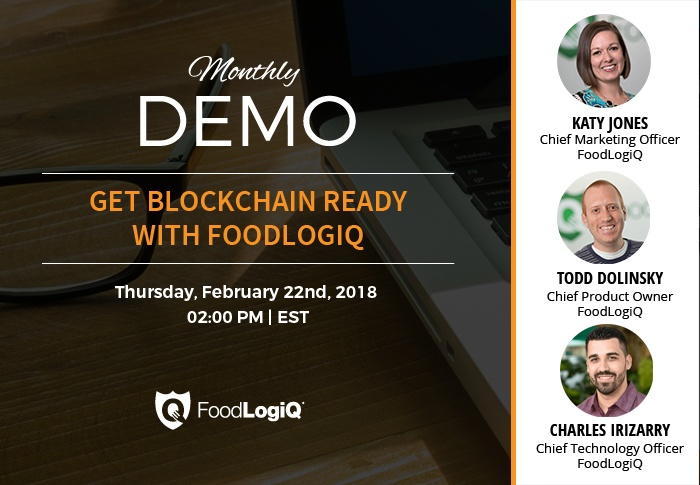 Get Blockchain Ready with FoodLogiQ