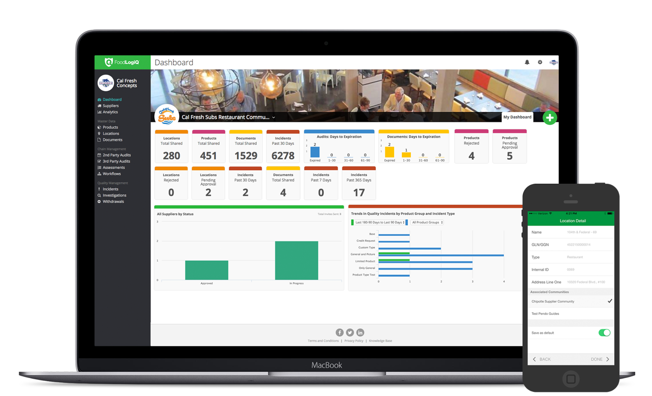 FoodLogiQ's Summer '21 Release Expands Connect Data Links, Enables Audits-Based Incidents and Enhances SSO Functionality