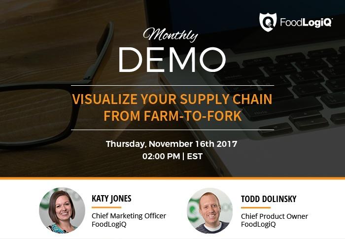 FoodLogiQ Track + Trace Demo