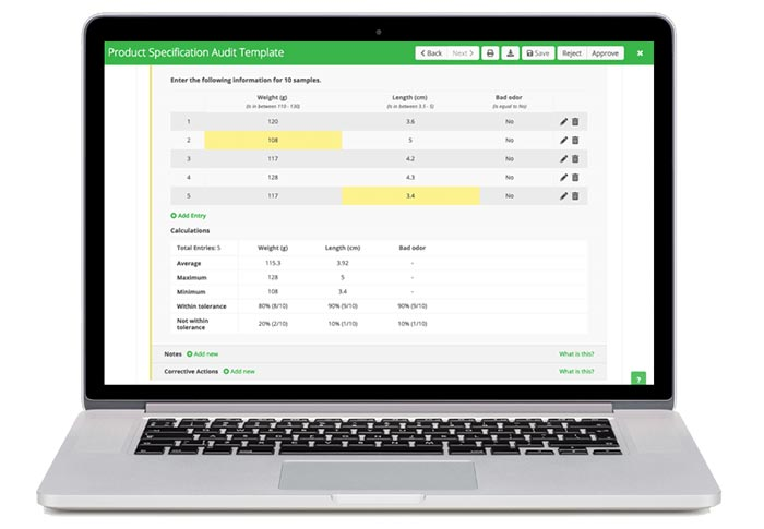 FoodLogiQ Adds New Product Specification Audit Functionality to Connect Platform