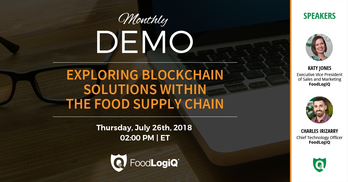 Exploring Blockchain Solutions within the Food Supply Chain