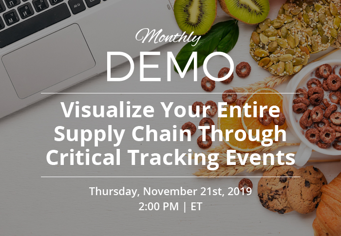 Visualize Your Entire Supply Chain Through Critical Tracking Events