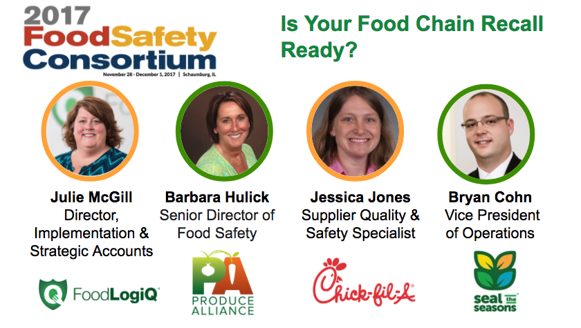 Food Industry Leaders Share Recall Management Best Practices at the 2017 Food Safety Consortium