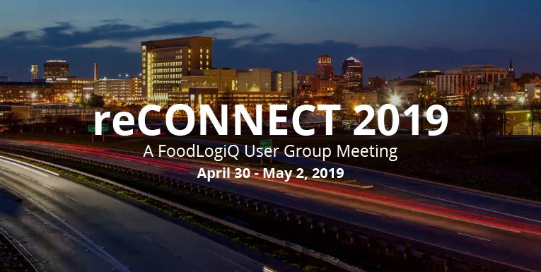 FoodLogiQ Announces Second Annual User Group Meeting