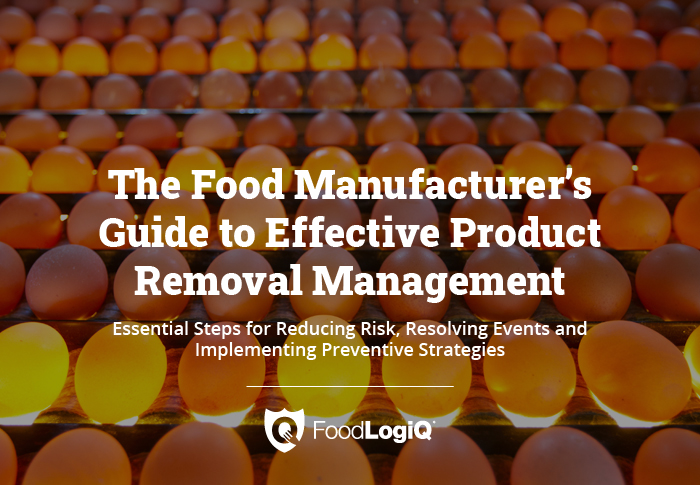 Effective Product Removal Management in Food Manufacturing